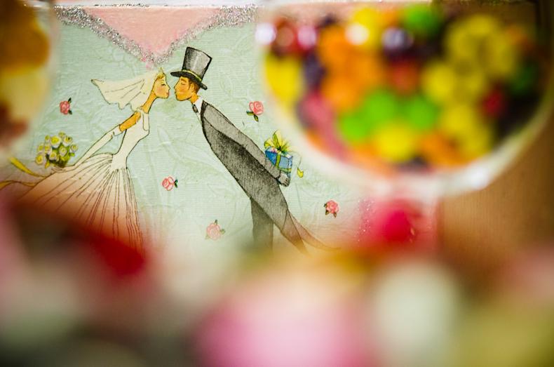 detail svadobnej vyzdoby
